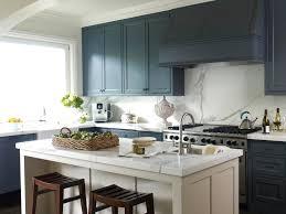 navy kitchen island breathingdeeply