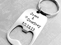 wedding favor personalized bottle opener with by bbeadazzled