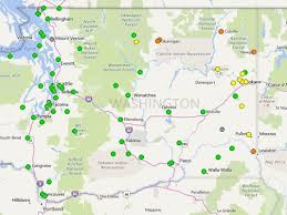 map of oregon smoke smoke gradually clearing air quality index map shows signs of