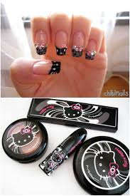 60 best nails hello kitty images on pinterest hello kitty nails