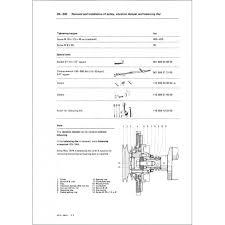 mercedes repair manuals service manual engines m110