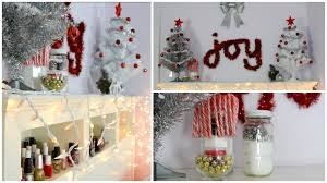 diy holiday room decorations easy u0026 cheap youtube