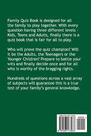 family quiz book amazon co uk john jester 9781503173033 books