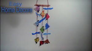 Fish Home Decor Wall Hanging Home Decoration Idea With Origami Fish Diy Home