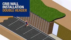 crib wall double header 3d animation youtube