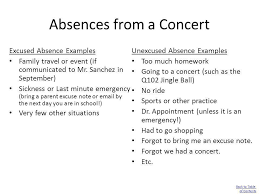 bunch ideas of sample of excuse letter for being absent in