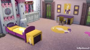 Disney Princess Bedroom Furniture Set by Disney Princess Bedroom Set 2 0 Brittpinkiesims Sims 4 Custom