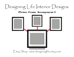 Wall Picture Frames by Designing Life How To Arrange Picture Displays On A Wall Six