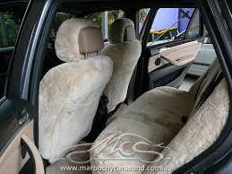bmw rear seat protector bmw x5 custom made sheepskin seat covers maroochy car sound