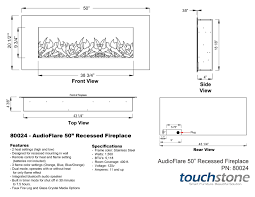 touchstone 80024 audioflare stainless 50