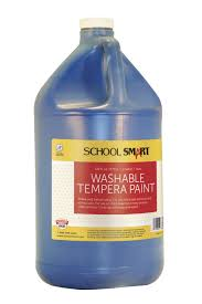 smart tempera paint blue specialty marketplace
