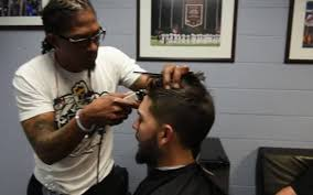 with eric hosmer u0027s help lee judge gets u0027the hos u0027 haircut the