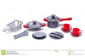 accessoire cuisine jouet ensemble de jouet d ustensile de cuisine image stock image du