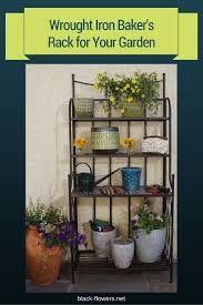 Outdoor Bakers Rack Wrought Iron 52 Best Patio Shelves Images On Pinterest Gardening Backyard