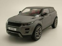 matte range rover land rover range rover evoque 2011 matte gray model car 1 18