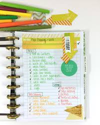 cleaning ideas the happy planner fall cleaning list me my big ideas