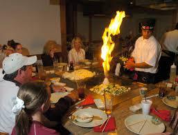 shogun japanese cuisine review shogun japanese steaks and sushi puts the in far east