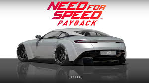 concept aston martin jreel concept aston martin db11 need for speed payback edition