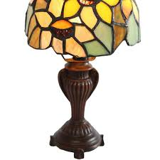 river of goods sunflower blossoms tiffany style stained glass 12