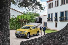 mercedes x class ute officially unveiled the versatile gent