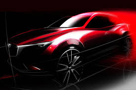 mazda official website mazda cx 3 first official sketch revealed auto express