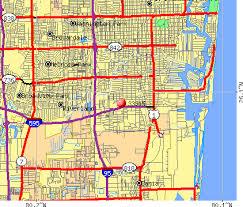 map of ft lauderdale zip code map fort lauderdale zip code map