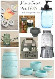 Mason Jar Home Decor Ideas Mason Jar Kitchen And Home Decor