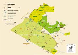 Hummingbird Migration Map Masai Mara And Surrounding Kenya Game Reserves