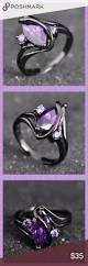 amethyst engagement ring custom by 51 best amethyst rings images on pinterest
