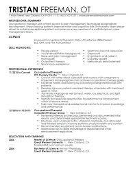 Resume Templates For No Job Experience Sample Resume Canada Format Therapist Resume Samples Resume
