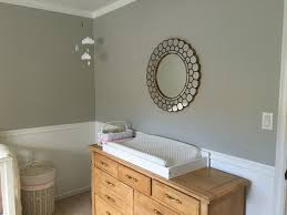 our nursery sherwin williams collonade gray wall color pottery