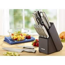 Farberware Kitchen Knives Farberware Sted Stainless Steel 15 Cutlery Set Walmart