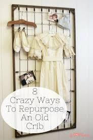8 crazy ways to repurpose an old crib repurpose desks and craft