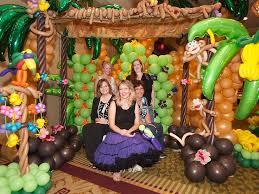 60 best balloon tropical luau decor images on pinterest balloon
