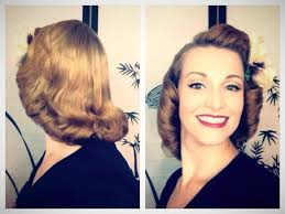 pageboy hairstyle gallery the 1940 s 1950 s pageboy tutorial basic authentic methods youtube