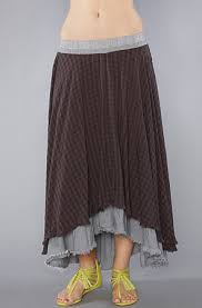 free people the checkered plaid high low maxi skirt karmaloop com