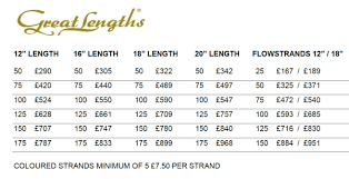 great lengths hair extensions price hair extension pricing