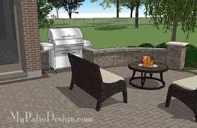 Large Brick Patio Design With 12 X 16 Cedar Pergola Outdoor curvy brick patio design with pergola downloadable patio design