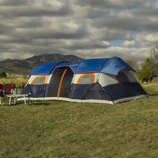 ozark trail 20 x 10 tunnel tent with screen porch sleeps ebay