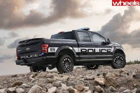 fastest police car ford f 150 is the world u0027s fastest pursuit ute wheels