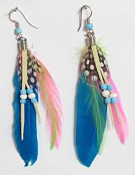 feather earring 3 stylish feather earrings for 2014 adworks pk adworks pk