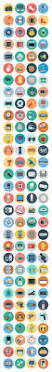 120 electronics flat icons by creativestall this is a collection