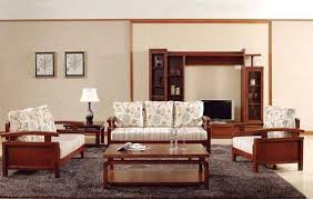 Wooden Sofa Sets For Living Room Walls Interiors Wooden Sofa And Furniture Set Designs For Small