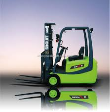 three wheel ac electric forklift truck china cpd