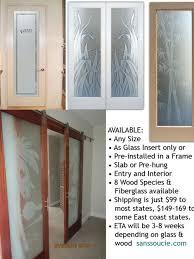 Glass Insert Doors Interior Interior Glass Door Houzz