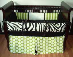 Baby Boys Crib Bedding by Sweet Pea Zebra Black And Green Baby Boy Crib Bedding 279 00