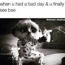 Cute Memes For Boyfriend - thisissome miglidtfortit bae badday hug cute