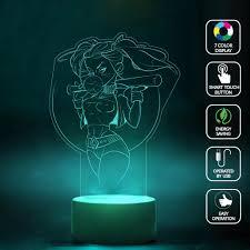 Home Design 3d Lighting 2017 Harley Quinn Art Design 3d Lamp Night Change Best Gift Night