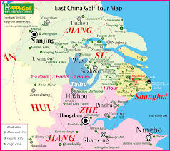 East China Sea Map Tee Time Booking With No Need Of Membership In China