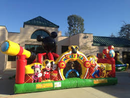 mickey mouse clubhouse bounce house 8 best mickey mouse clubhouse party planning images on
